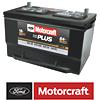 Motorcraft® Tested Tough® PLUS Batteries