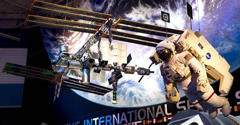 Photo courtesy of Space Center Houston